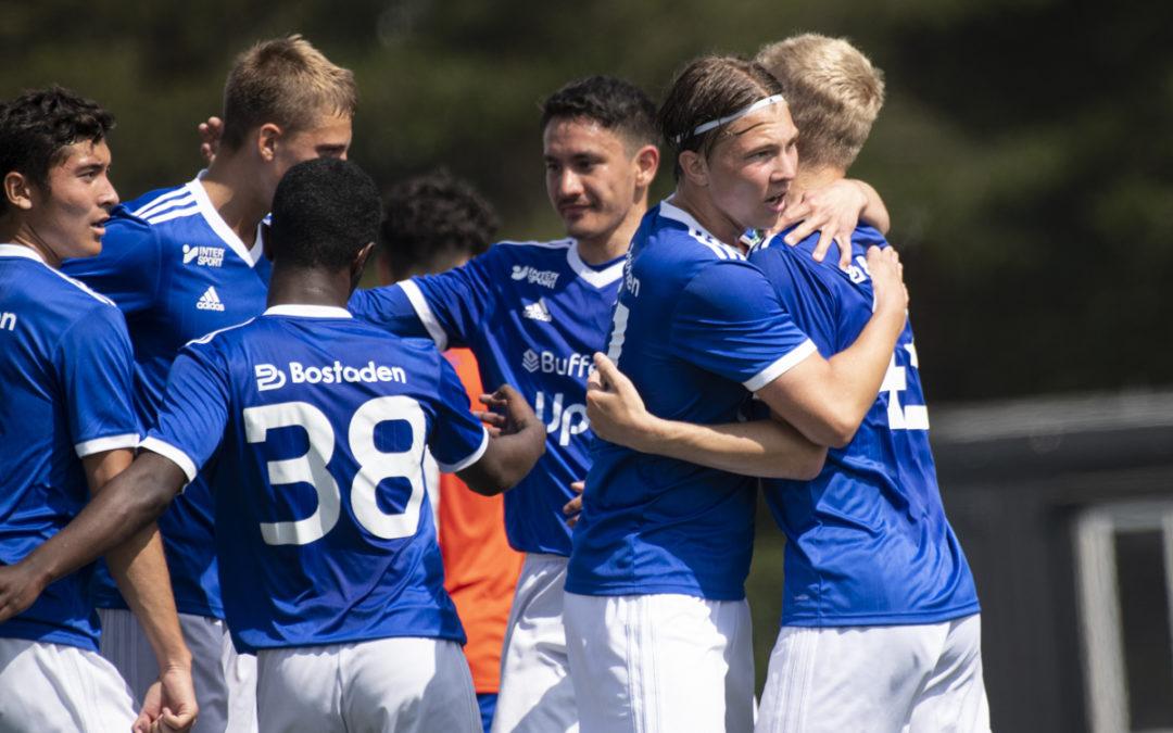 U17 Allsvenskan: Övertygande seger i hemmapremiären