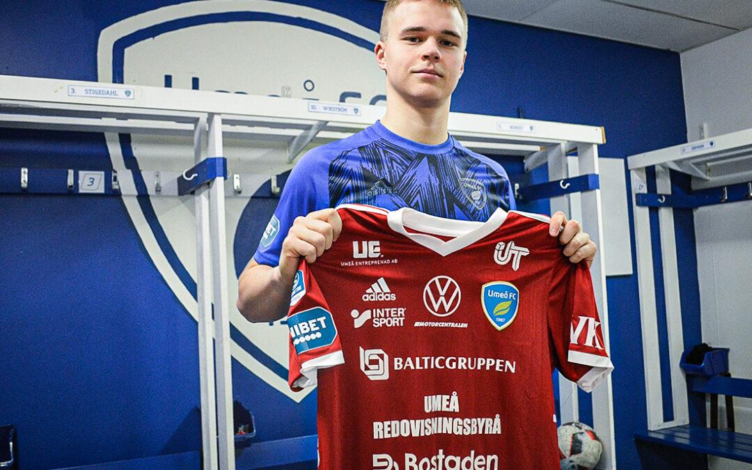 Tredje akademispelaren att skriva på ett A-lagskontrakt inför 2021 – Pontus Eriksson klar för tre år