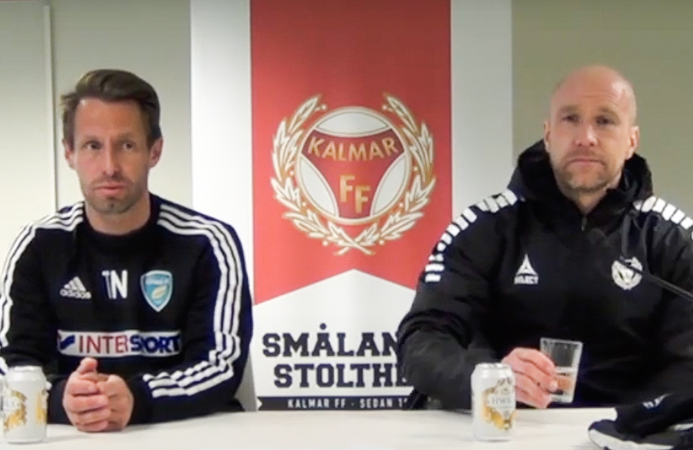 Presskonferens efter Kalmar FF – Umeå FC