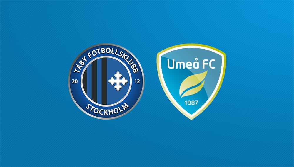 Höjdpunkter: Täby FK – Umeå FC